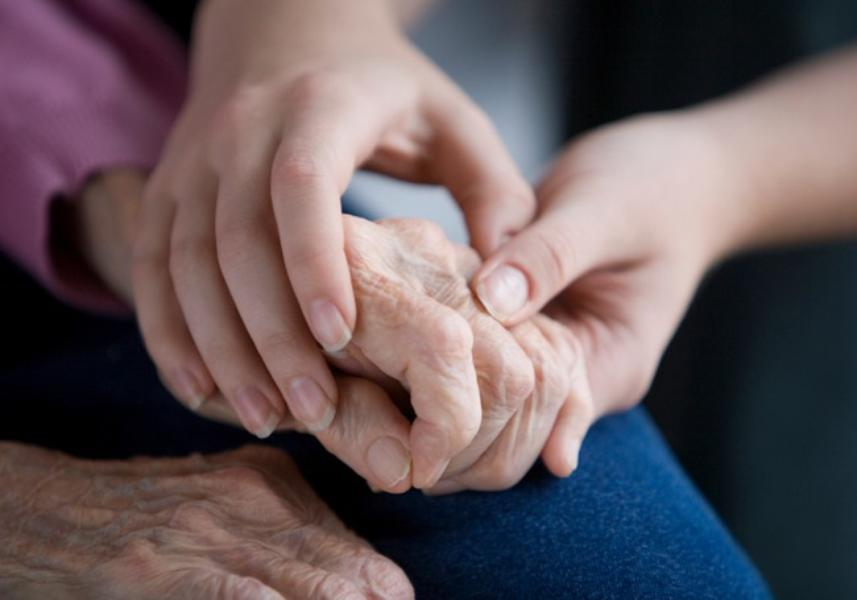 older child holding their parent's hand for guardianship